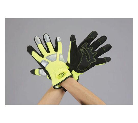 [取扱停止]手袋(合成革/安全色)