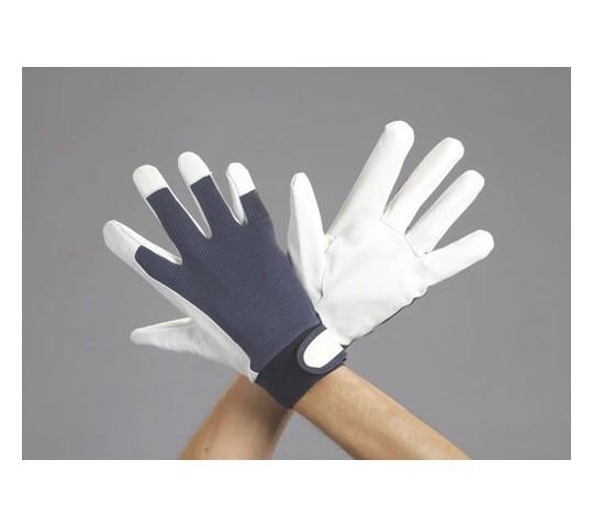 [取扱停止]手袋(豚革/紺) EA353BBシリーズ
