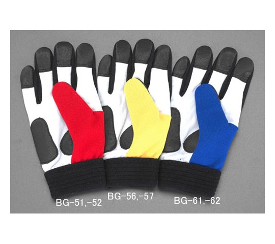 手袋(牛革/赤) EA353BGシリーズ