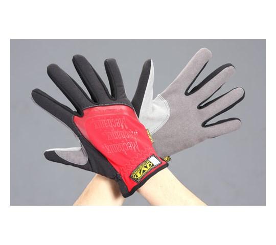 [取扱停止]手袋・メカニック(合成革/赤) EA353BSシリーズ