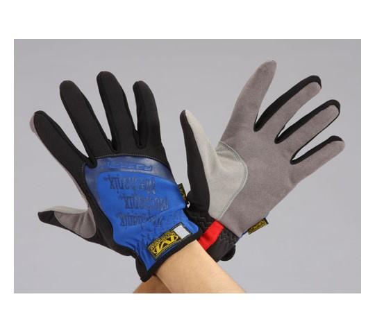 [取扱停止]手袋・メカニック(合成革/青) EA353BSシリーズ