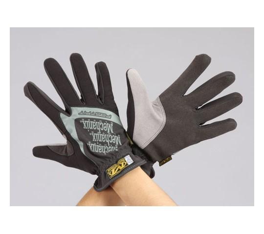 [取扱停止]手袋・メカニック(合成革/黒) EA353BSシリーズ