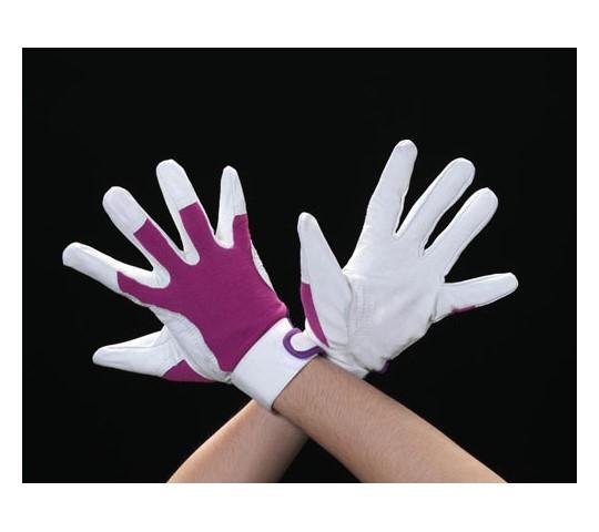 手袋(豚革/パープル) EA353Cシリーズ