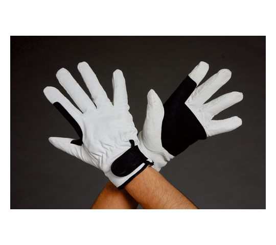 [取扱停止]手袋(豚革/白・黒) EA353Cシリーズ