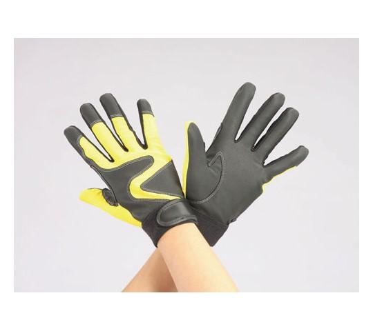 手袋(ポリウレタン・補強付/黄) EA353CMシリーズ