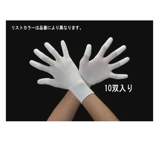 手袋(ナイロン・ポリウレタンコート/10双) [L]