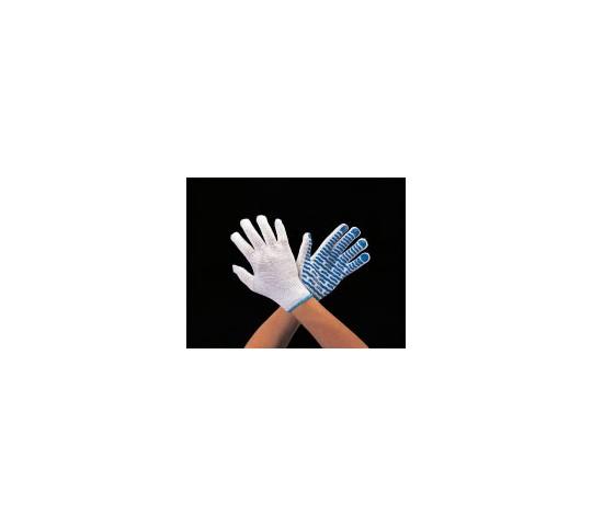 手袋(ポリエステル・滑り止め付) [フリー]