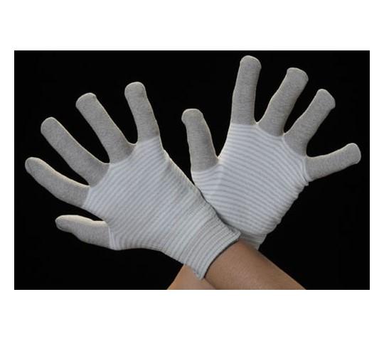手袋(制電性・銀メッキナイロン繊維) [L]