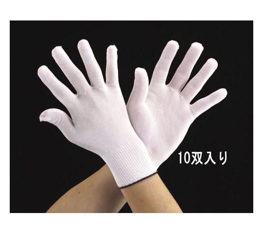 手袋・インナー(キュプラポリエステル/10双) [L]