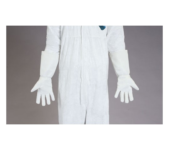 手袋(耐熱・耐磨耗性・合成皮革) 400mm [フリー] EA354AF-32