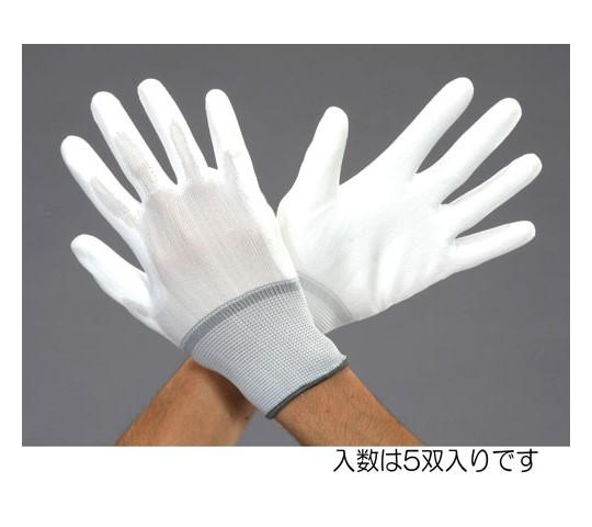 手袋(極薄ナイロン・滑り止め付/5双) [L]