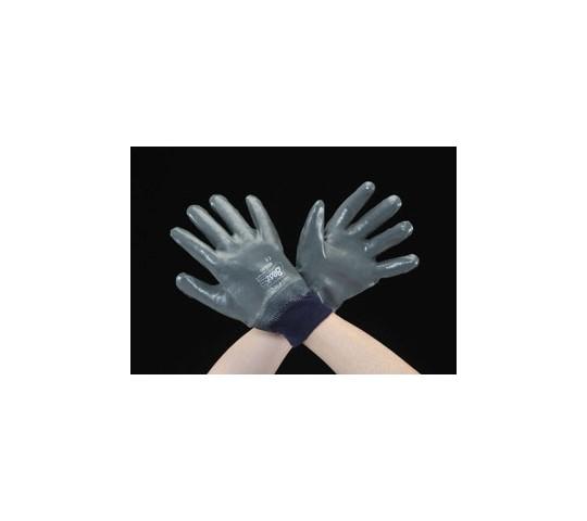 [取扱停止]手袋(ニトリルゴム・裏地綿メリヤス) [M] EA354BF-9