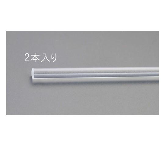 アクリル丸棒(透明・2本) 直径10×1000mm EA440DM-10