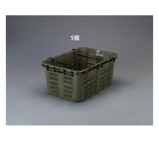808×553×370mm/119.6Lコンテナ(OD/5個) EA506AB-19E