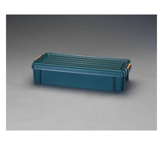 [取扱停止]710×300×160mm収納ケース(バックル付/緑) EA506AB-50