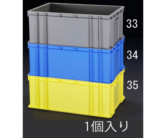 658×448×268mm/64.2Lコンテナ(ブルー) EA506AF-34