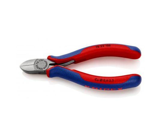 125mm,精密用ニッパー(グリップ・バネ付/直刃)