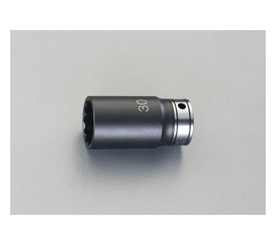 """ディープソケット(インパクト兼用) 1/2""""sq×22mm"""