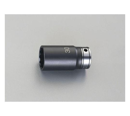 """ディープソケット(インパクト兼用) 1/2""""sq×32mm"""