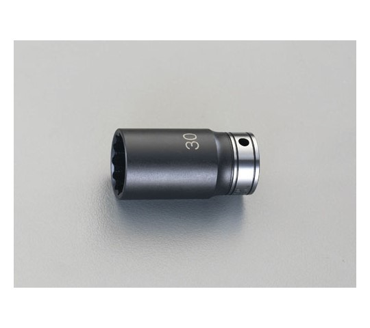 """ディープソケット(インパクト兼用) 1/2""""sq×34mm"""