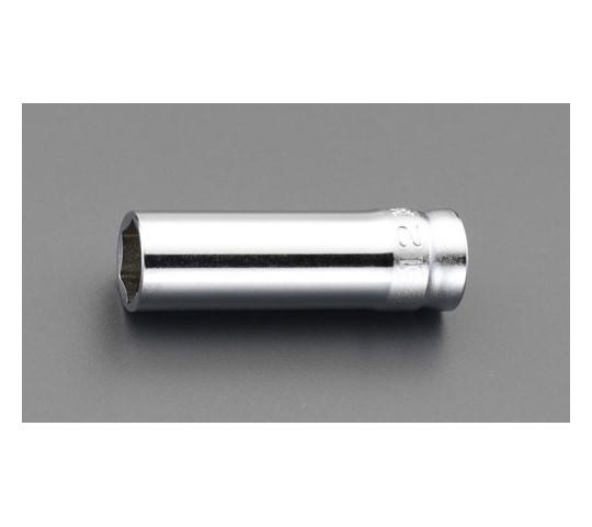 """ディープソケット(Z-EAL) 3/8""""sq×19mm"""
