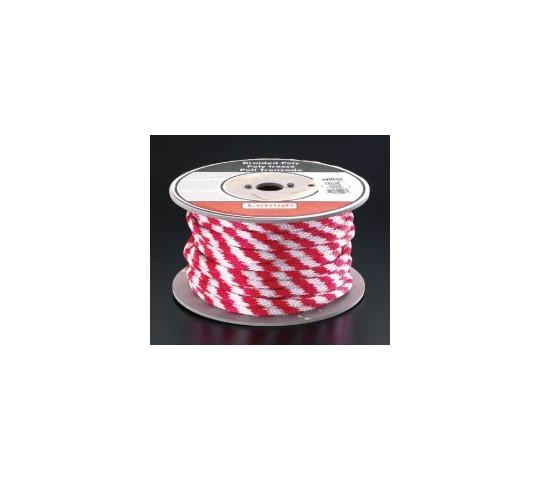 [取扱停止]直径9.5×180mポリロープ(赤/白) EA628AM-9