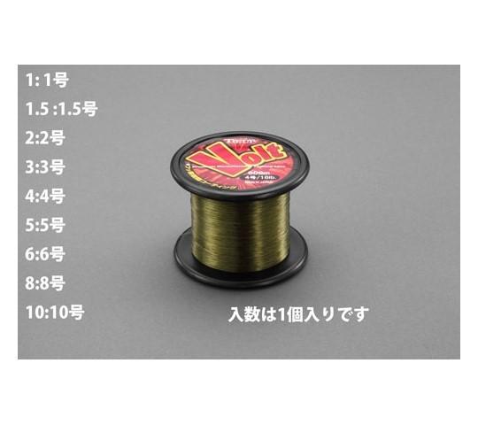 ナイロン糸(フッ素樹脂コーティング)