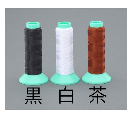 [取扱停止]#0×240m縫糸(ポリエステル製/茶) EA628AY-53