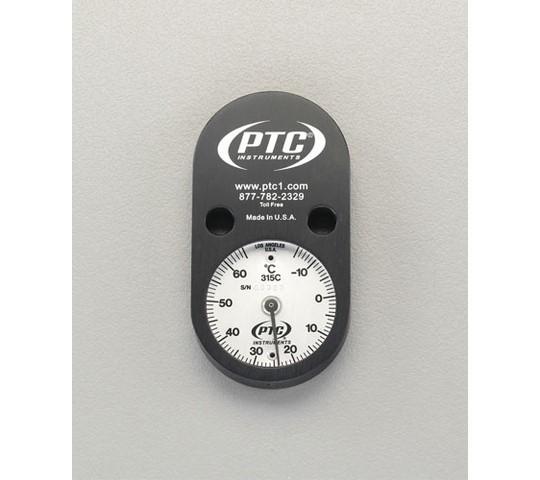 ボンベ用表面温度計(マグネット付)