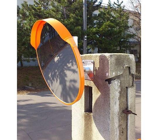 直径大型安全ミラー(壁面用/アクリル製)