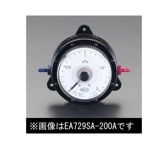 微差圧計 0-2.0Kpa