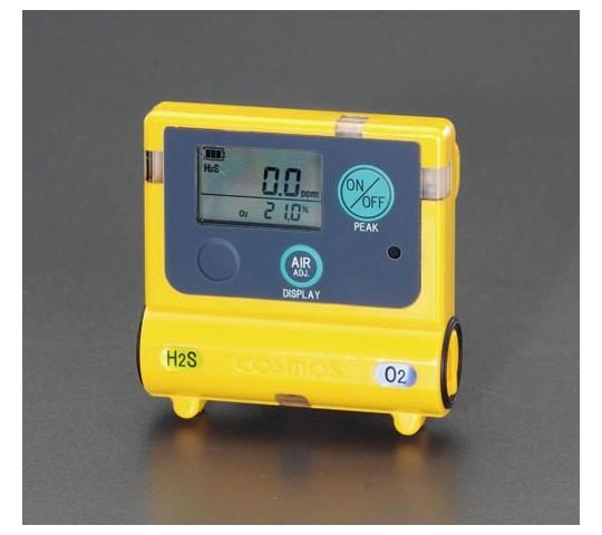 酸素・硫化水素濃度計