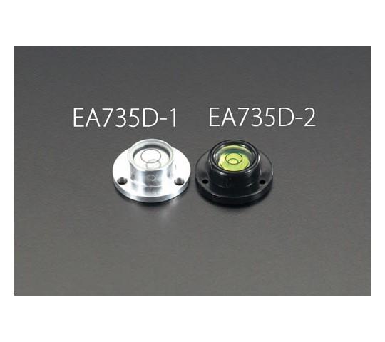 30×11mm目玉レベル(黒) EA735D-2