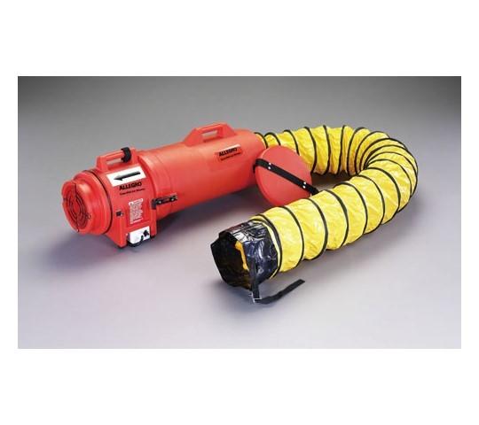 AC115V/250W/直径203mmダクトブロワー(4.5mダクト付