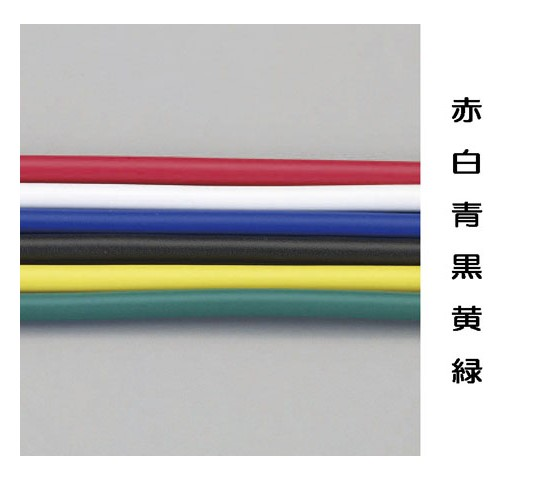 ビニール絶縁電線[KIV](赤)