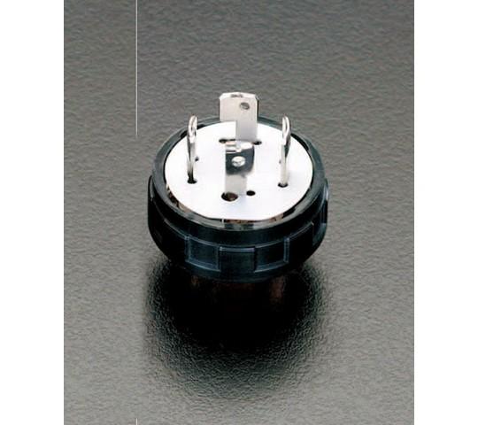 引掛プラグ(3P) AC250V/20A EA940BW-3