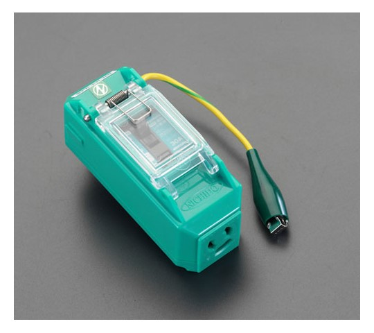 100V/15A漏電保護タップ