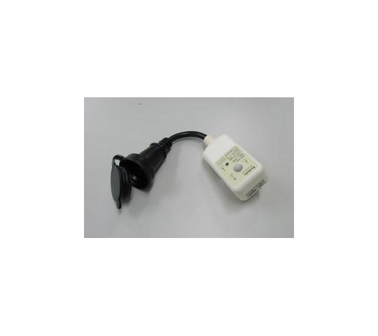 AC100V/15A/0.15m漏電保護プラグ
