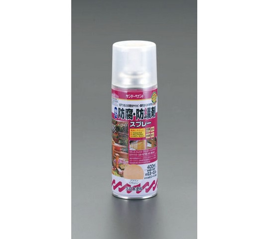 400mL建物木部用防腐・防蟻剤スプレー(ブラウン)
