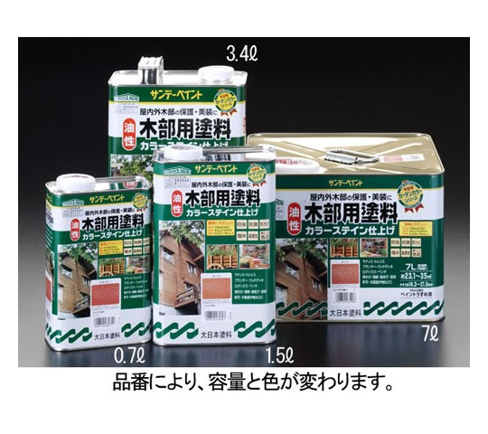 3.4L[油性]木部用塗料(チーク)