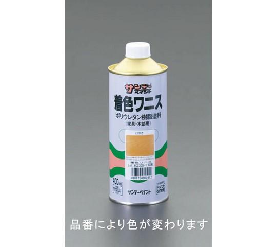 400mL木部用着色ワニス(けやき色)