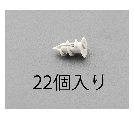 ボードアンカー ナイロン製 直径11×19mm 22個