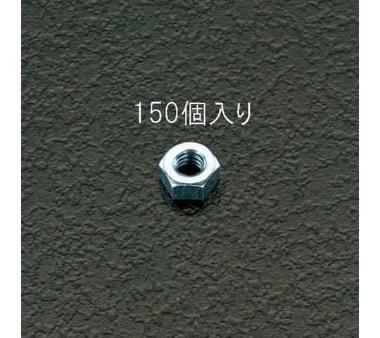 六角ナット ユニクロメッキ M2.6 150個