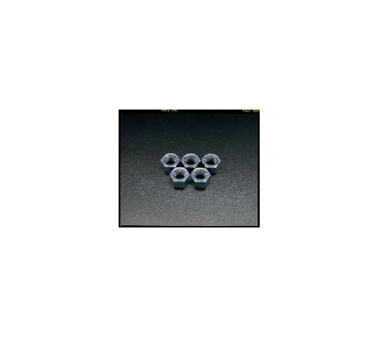 六角ナット ユニクロメッキ M24 5個