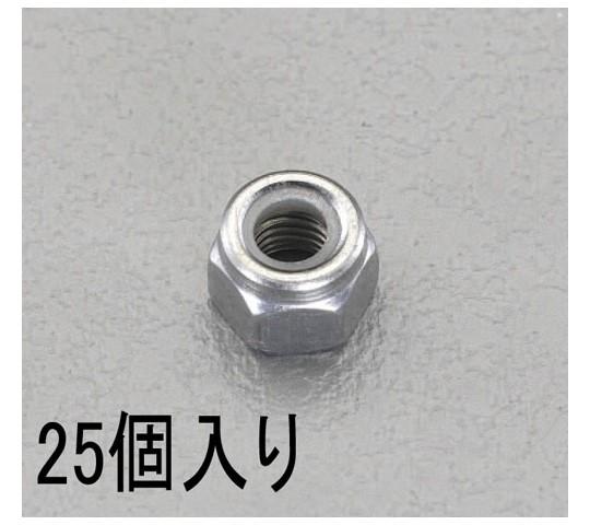 [ゆるみ止]ナイロンナット ステンレス M8 25個