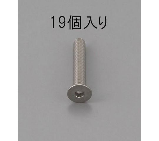 六角穴付皿頭ボルト ステンレス M4×6mm 19本 EA949MD-406
