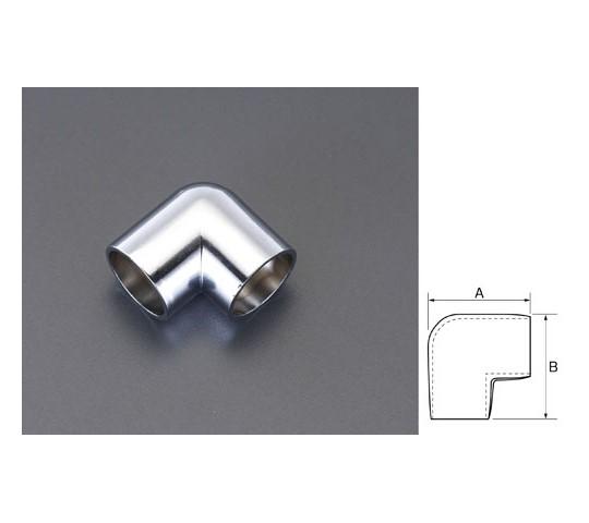 パイプジョイントエルボ(クロームメッキ) 25mm