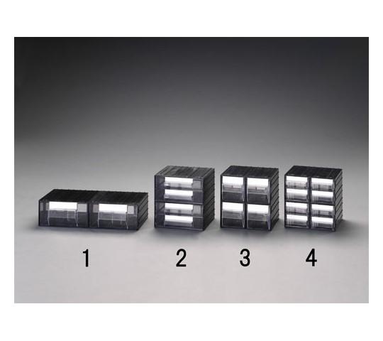 225×225×225mm/1列2段キャビネット(連結)