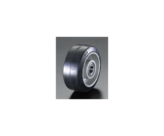 125×40mm車輪(ラバータイヤ・アルミホイール) EA986M-125
