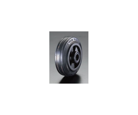 80×25mm車輪(ラバータイヤ・PPリム・ローラーベアリング) EA986MC-1